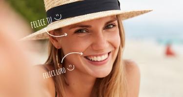 Il sole rende felici anche i tuoi denti